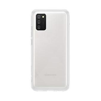Shell Samsung A02s in transparent rubber