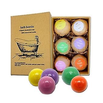Bomby kąpielowe, Stress Relief Organic Złuszczające Fizzies Bańka, Sole Ball