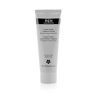 Ren Flash spoel 1 minuut gezichtsbehandeling 75ml/2.5 oz