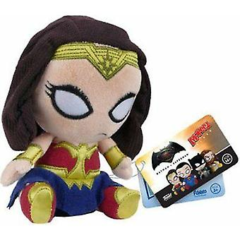 Mopeez batman v superman wonder woman plush