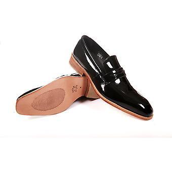 Men's Genuine Leather Formal Dress Black Shoes By Enaaf #crsca17