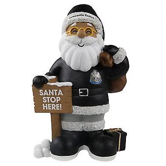 Newcastle United Resin Santa Gnome