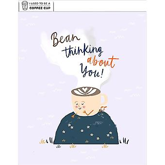 Hallmark I Used To Be A Coffee Cup Card - Bean Thinking