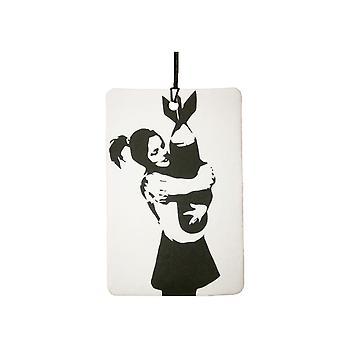 Banksy bombe Hugger bil luftfriskere
