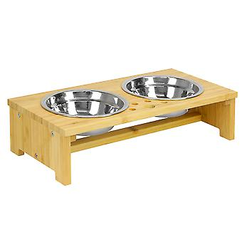 Hævet Pet Bowls | For hunde og katte | M&W lille