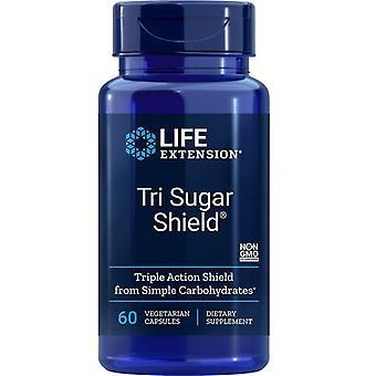 Life Extension Tri Sugar Shield Vegicaps 60