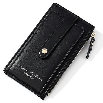 Multifunctional ladies coin purse, anti-degaussing NFC shielding card holder