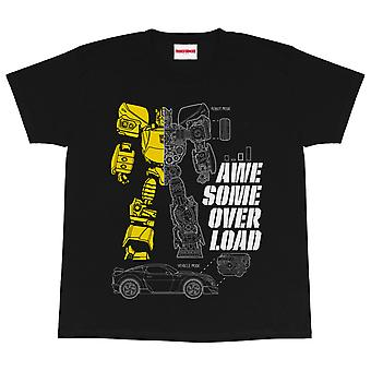 Transformers Girls Awesome Overload Bumblebee T-Shirt