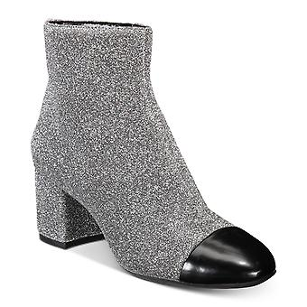 INC International Concepts Womens Niva Fabric Cap Toe Ankle Fashion Boots