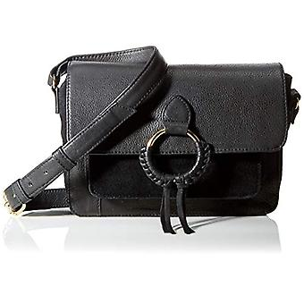 PIECES, PCSELDA Leather Cross Body FC Women's, Black, One Size Fits All