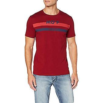 Marc O'Polo 9.28222E-11 T-Shirt, Rouge (Biking Red 353), Moyen Homme