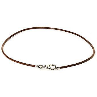Trollbeads Necklace Collana Cuoio Marrone 42 cm
