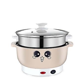 Cocina eléctrica multifuncional, Bandeja de calefacción, Máquina de cocinar olla, Hermillo