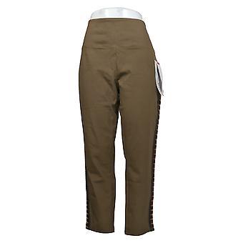 Kvinder med Control Kvinders Petite Jeans Prime Stretch Side Trim Beige A375704