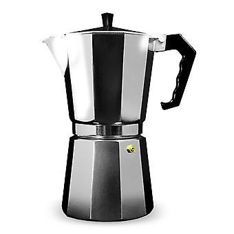 Grunwerg Aluminium Espresso Maker Gift Boxed 9 Cup