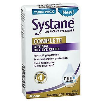 Systane Systane Complete Optimal Dry Eye Relief Lubricant Eye Drops, 20 ml