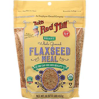 Bobs Red Mill Flaxseed Meal Org, Case of 4 X 16 Oz