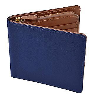 Восковая коровья кожа монета кошелек короткий 2-х кратный кошелек имитация коридор кожа RFID кожаный кошелек