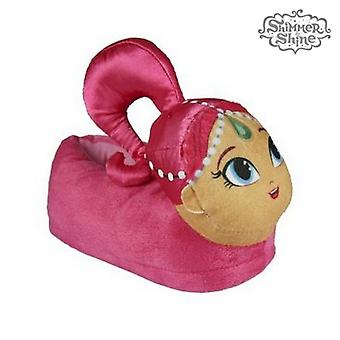 3D House Slippers 3d Shimmer and Shine 72720