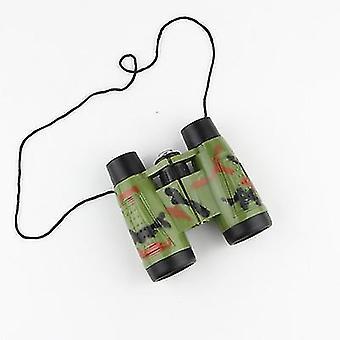 Jumelles Télescope pour enfants Jouet Camouflage Jumelle