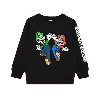 Super Mario Boys Luigi Sweatshirt