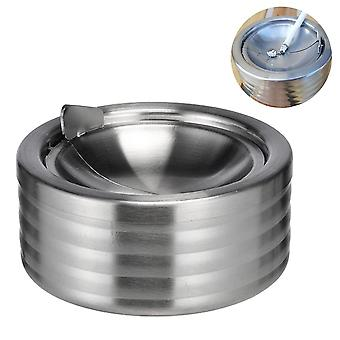 Stainless Steel Ashtray With Lid