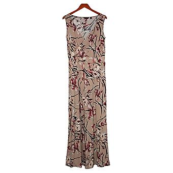 G by Giuliana Women's Jumpsuits Reg Knit Floral Pink 649943