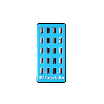 Usb Smart Charger With 20 Ports Power Adapter Of Universal Compatibility Charging Station For Family And Office Use