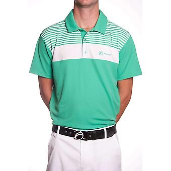 Fayde lines polo shirt