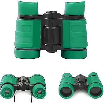 Binoculars for kids binoculars toys 4x30 for ages 3 4 5 6 7 9 years boys for kids,(green)