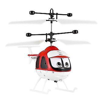 מסוקים בשלט רחוק מיני אינפרא אדום מסוק מסוק מטוס 3D מיקרו מסוק צעצוע מתנה חג המולד לילדים|rc מטוסים אדומים