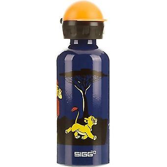 SIGG Lion King 0.4L Aluminium Non-Toxic Kids Drinking Bottle-8563.5
