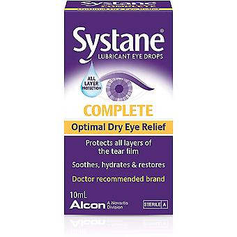 Systane Complete Lubricant Dry Eye Drops 10ml