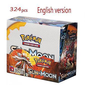 De nieuwste Pokemon-kaarten 324 vellen in het Engels