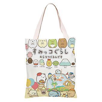 الكرتون أنيمي قماش حقيبة التسوق Totes، سوميكو #23