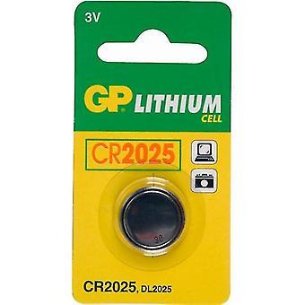 GP CR2025 Lithium Knopfzelle