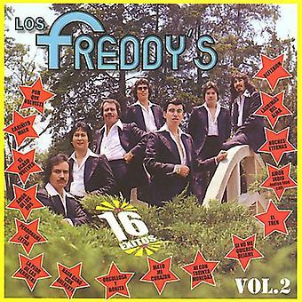 Los Freddys - Los Freddy's: Vol. 2-16 Exitos [CD] USA import