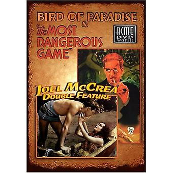 Bird of Paradise/Most Dangerous Game [DVD] USA import