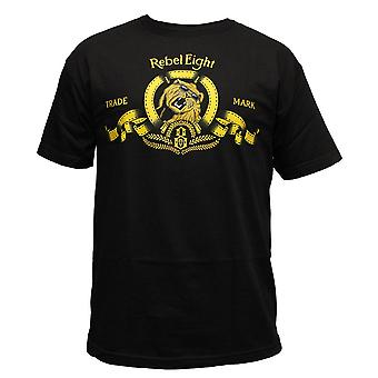 Rebel8 King of the Jungle T-shirt Black