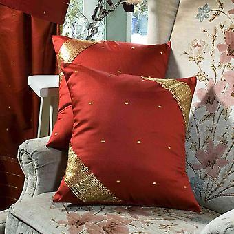 Rost-dekorative handgefertigte Kissen decken, Wurfkissen Fall Euro Schein-6 Größen