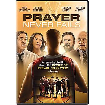 Bønn svikter aldri [DVD] USA importere