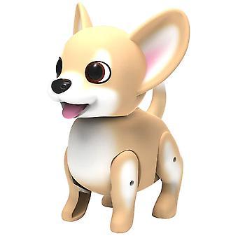 Cutesy chien animal de compagnie - marron et blanc