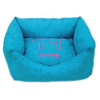 Freedog HQtex turquoise bed (Dogs , Bedding , Beds)