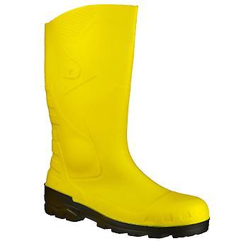 Cargadores de Wellington de seguridad amarillo Unisex de Devon de Dunlop