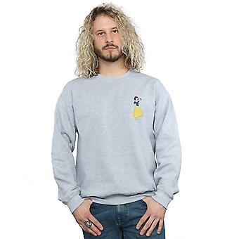 Disney Princess Men's Snow White Chest Sweatshirt