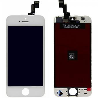 Näyttöyksikön LCD täydellinen kosketusnäyttö Applen iPhone valkoinen se