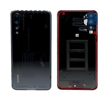 Huawei סוללה כיסוי סוללה כיסוי שחור עבור P20 Pro/Dual/02351WRR תיקון חדש
