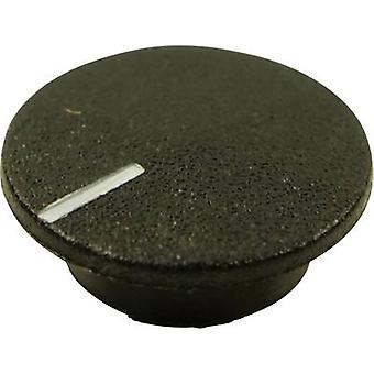 Cliff CL1764 Cover + hand Black Suitable for K21 rotary knob 1 pc(s)