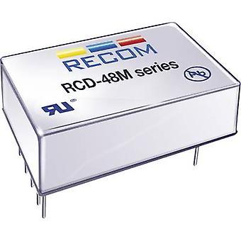 Recom Lighting RCD-48-1.20/M LED Controller 1200 ma 56 V DC analog ljusreglering, PWM ljusreglering max. Driftspänning: 60 V DC