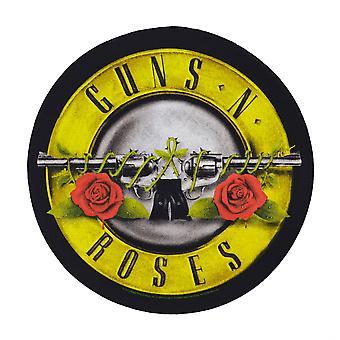Guns N' Roses Bullet logotyp cirkulär Back Patch